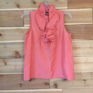 Jcrew pink silk blouse 2268-🌼